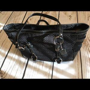 Authentic Coach Tote Medium Handbag H0878-F12346